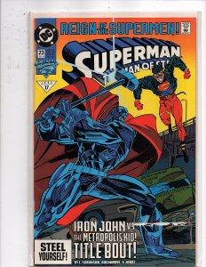 DC Comics Superman Man of Steel #23 Steel Superboy