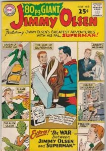 Eighty Page Giant #2 (Sep-64) VF+ High-Grade Jimmy Olsen, Elastic Lad