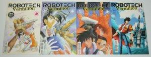 Robotech: Vermilion #1-4 VF/NM complete series - antarctic press set lot 2 3