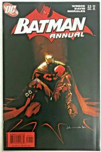 BATMAN ANNUAL#25 VF/NM 2006 RED HOOD ORIGINS DC COMICS