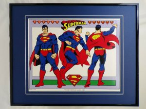 DC Comics Superman 360 View 16x20 Framed Poster Display
