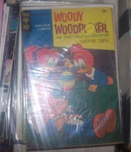 Walter Lantz Woody Woodpecker #100 1968, Western Publishing gold key