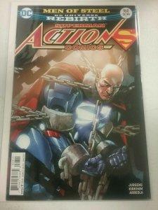 Men of Steel Superman Action Comics 968 JAN 2017 DC Universe Rebirth Comic NW134