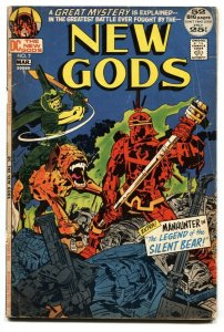 NEW GODS #7 1st appearance of Steppenwolf  1972 DC