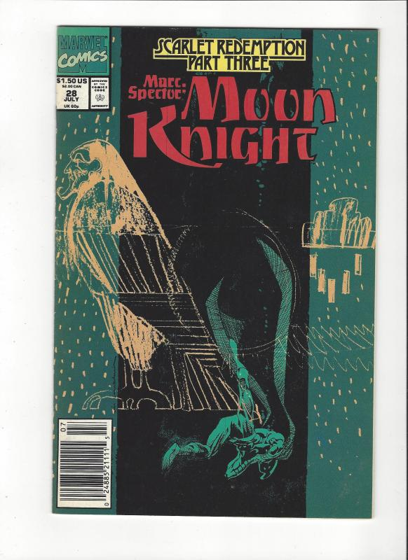 Marc Spector: Moon Knight #28 Scarlet Redemption NM