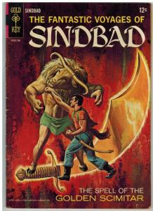 FANTASTIC VOYAGES OF SINBAD 2 VG-F 1967