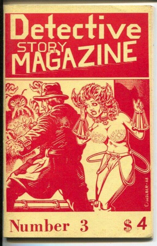 Detective Story Magazine #4 12/1988-Gryphon-William F. Nolan-Billie Soe Mosimon-