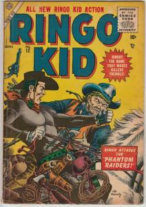 Ringo Kid Golden-Age #12 (Jun-56) FN+ Mid-High-Grade Ringo Kid