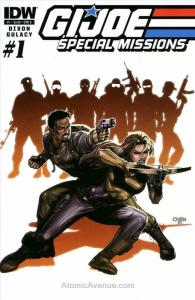 G.I. Joe Special Missions (3rd Series) #1A VF/NM; IDW | save on shipping - detai