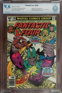 Fantastic Four 208 CBCS 9.6 1st New Champions Marvel 1979