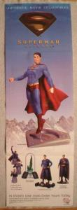 SUPERMAN RETURNS 2 Promo Poster, 11 x 34, 2006, Unused, more in our store