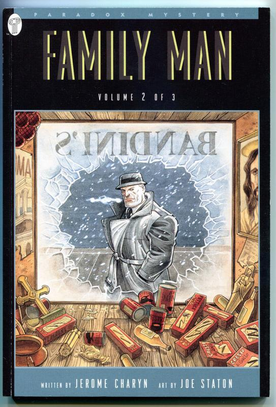FAMILY MAN #2, NM+, Joe Staton, Paradox Press, 1995, GN