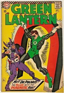 GREEN LANTERN#47 FN+ 1966 DC SILVER AGE COMICS