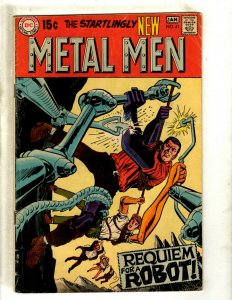 Metal Men # 41 VG DC Silver Age Comic Book Aluminum Gold Silver Zinc Alloy J462
