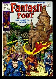 Fantastic Four #84 FN 6.0 Doctor Doom!