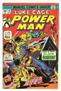 Power Man 24   1st Black Goliath