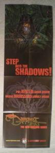DARKNESS STEP INTO SHADOWS Promo Poster, 12x36, Unused, more Promos in store