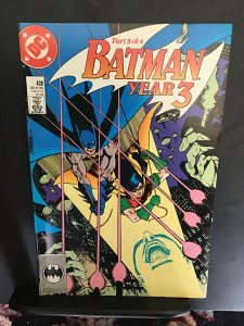 Batman #438 (1989) hi grade year three part three! NM- Wow!