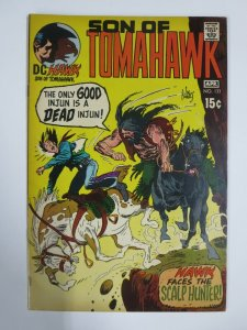 TOMAHAWK (Hawk, Son of...) #133 F/+  (DC, March 1971) Joe Kubert Cover