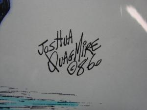 Joshua Quagmire Cutey Bunny 11 x 8.5 Colored Print