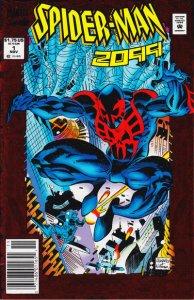 Spider-Man 2099 #1 (Newsstand) FN; Marvel | save on shipping - details inside