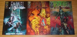 Ramiel: Wrath of God #1-3 VF/NM complete series - fallen angel comics set lot 2