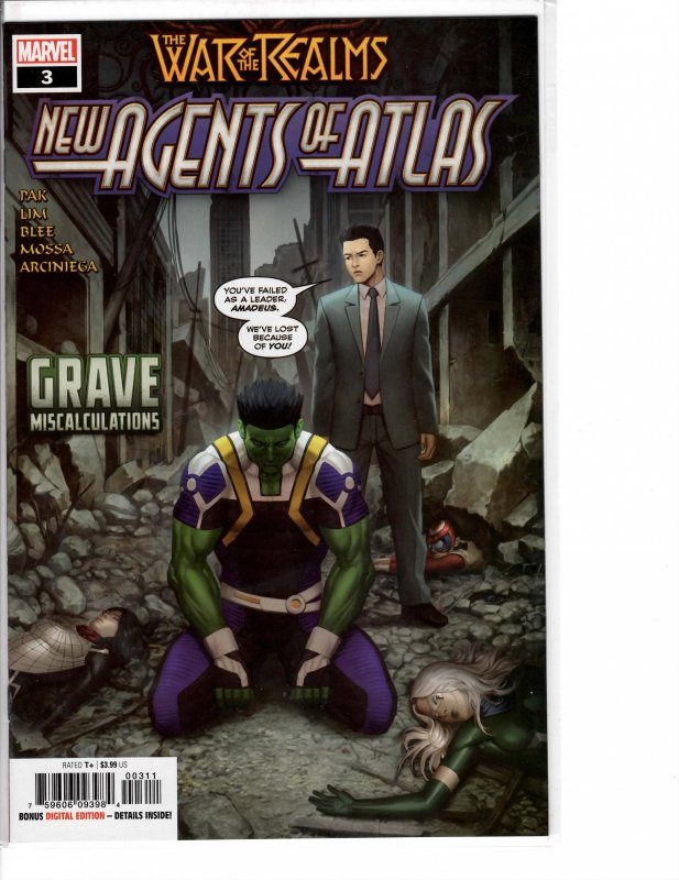 New Agents of Atlas (2019) 3 NM (9.4)
