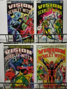 VISION & THE SCARLET WITCH (1982 MINI) 1-4 THE SET! TV show in the works