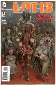 LOT 13 #3, NM, Steve Niles, Glenn Fabry, 2012, Haunted, more Horror in store