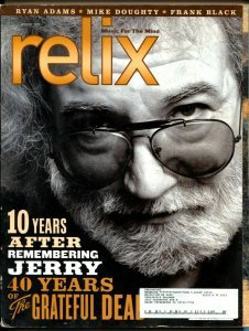 Relix 8/2005-Jerry Garcia-40 Years of Grateful Dead-rock 'n' roll history-VG