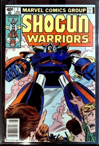 Shogun Warriors #7 (1979)