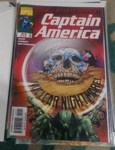Captain America # 12 1998 marvel   agent 13 nuclear nightmare pt 4 steve rogers