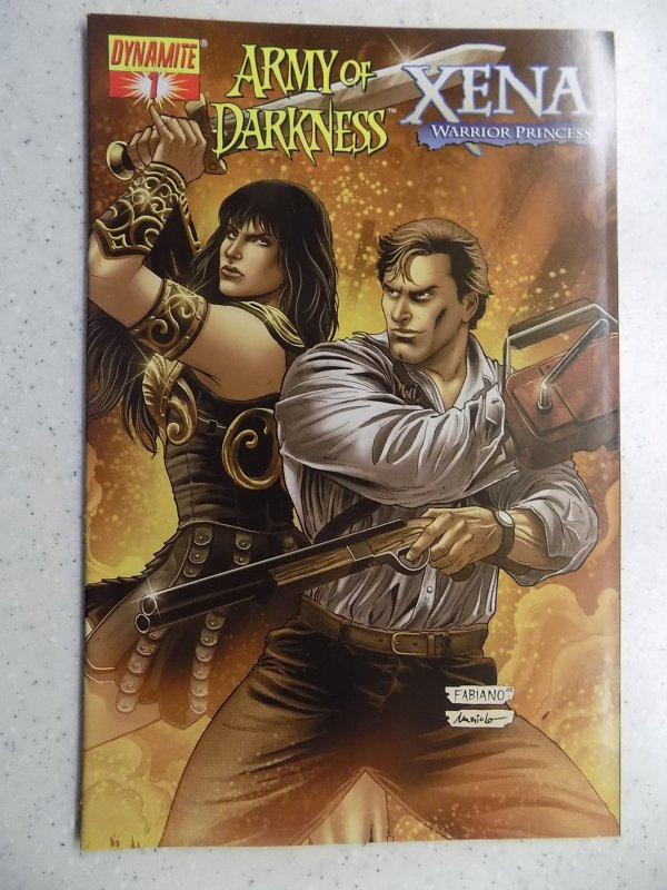 ARMY OF DARKNESS XENA WARRIOR PRINCESS # 1 DYNAMITE FANTASY