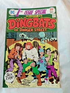 First Issue Special #6, DC Comics Dingbats of Danger Street! Jack Kirby! FN+