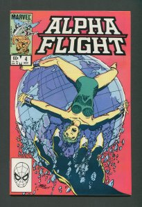Alpha Flight #4  / 9.2 NM-    November 1983
