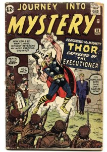 JOURNEY INTO MYSTERY #84 First appearance JANE FOSTER-Thor-comic book