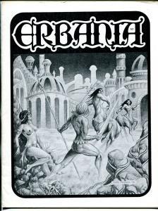 Erbania #30 -Edgar Rice Burroughs-Tarzan-Clyde Caldwell-info-pix-art- FN/VF