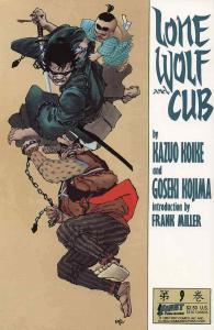 Lone Wolf and Cub #9 VF/NM; First | save on shipping - details inside