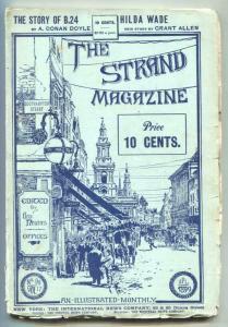 Strand Magazine Pulp December 1899- Arthur Conan Doyle VG