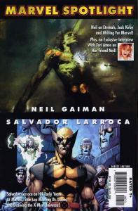 Marvel Spotlight: Neil Gaiman/Salvador Larroca #1 VF/NM; Marvel | save on shippi