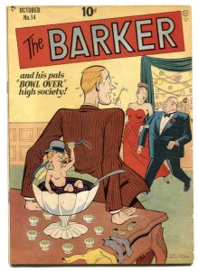 The Barker #14 1949-Gil Fox cover- Golden Age G/VG