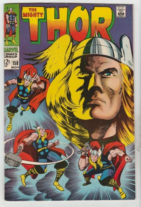 Thor #158 The Mighty strict VF 8.0 High-Grade  Reprint of the Origin   Richmond