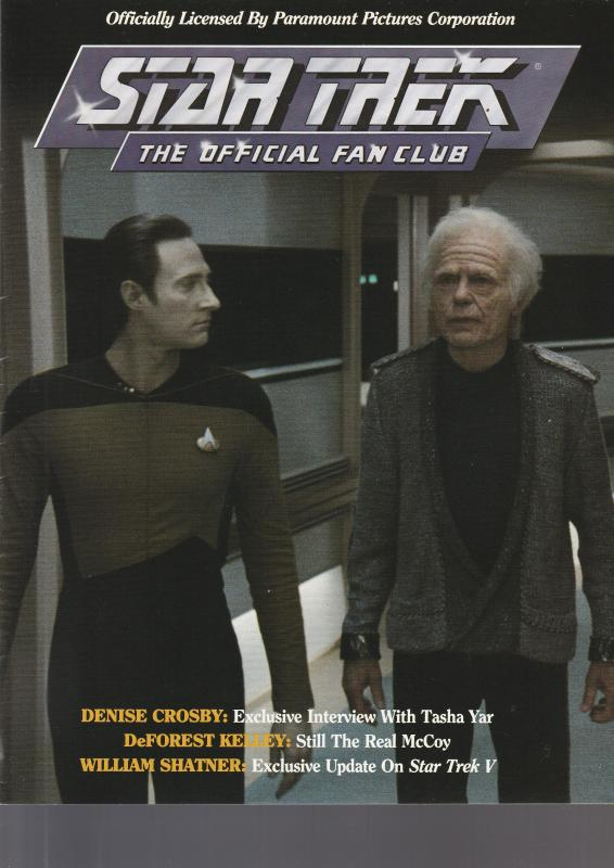 Star Trek Official Fan Club Magazine #59