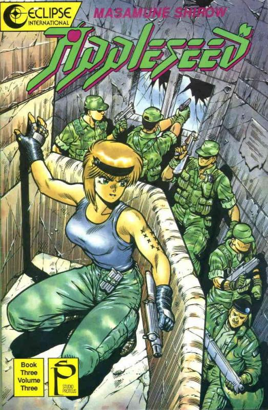 Appleseed Book 3 #3 VF/NM; Eclipse | save on shipping - details inside