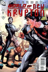 Superman: World of New Krypton #3, NM (Stock photo)