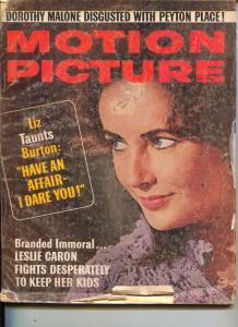 Motion Picture-Liz Taylor-Robert Vaughn-John Wayne-Robert Morse-May-1965
