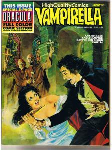 VAMPIRELLA #22, VF, Warren, Vampire, Maroto, Dhampir, 1969, Magazine