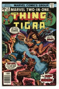 Marvel Two-In-One #19 1976 Thing- TIGRA-High Grade