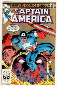 CAPTAIN AMERICA #278 (VF/NM) No Reserve! 1¢ Auction!