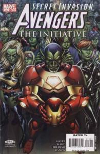 Avengers: The Initiative #15, NM (Stock photo)